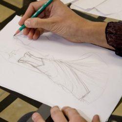 etape 1  robe de mariee signe edith