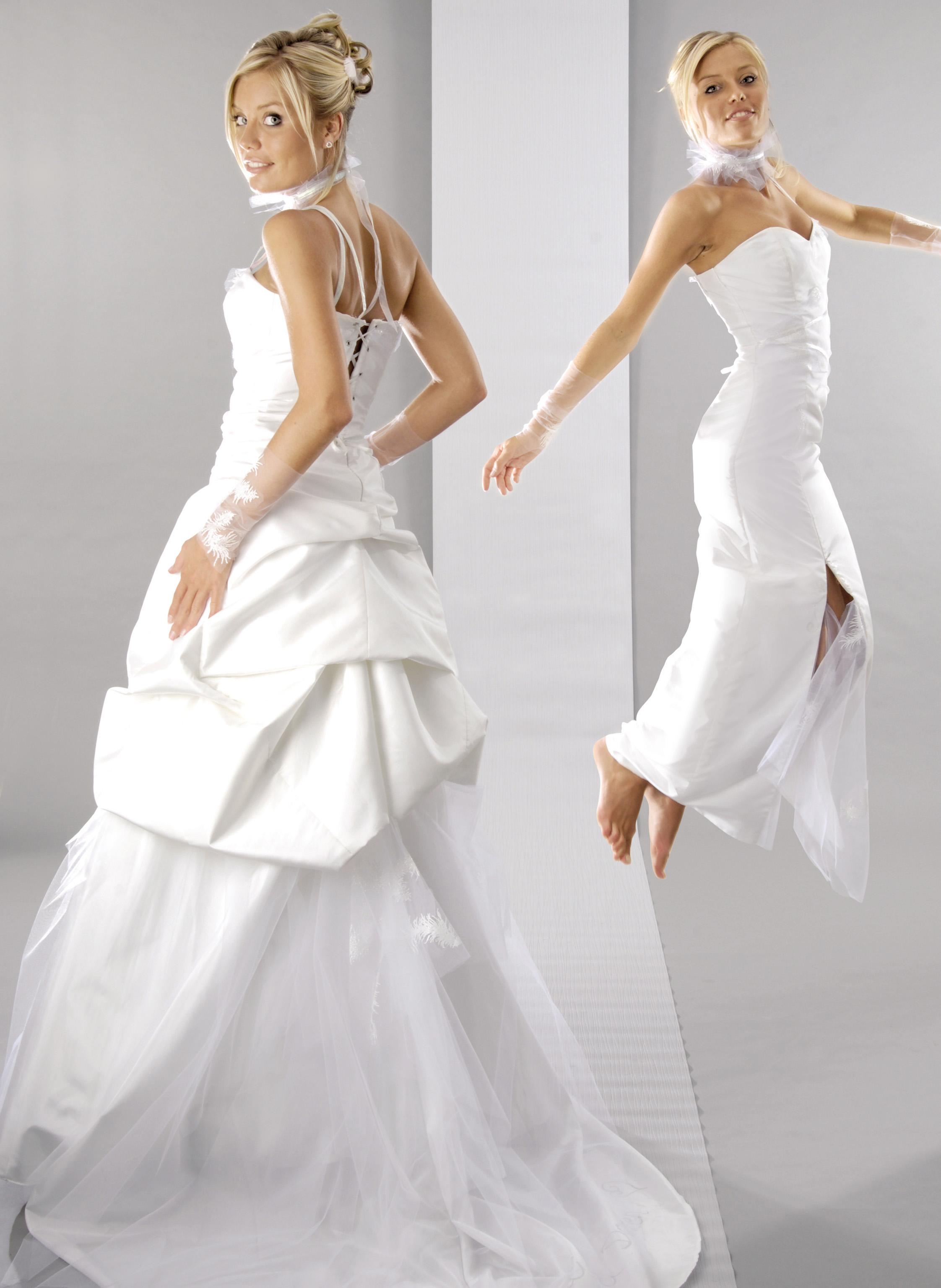 La robe de mariée modulable, Edith, créatrice