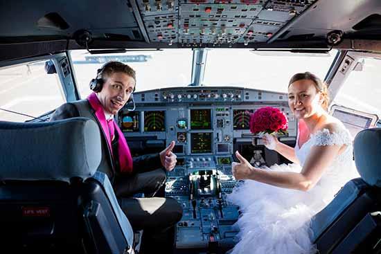 mariés_avions