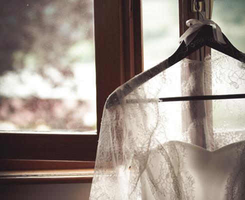 robe de mariée en dentelle romantique