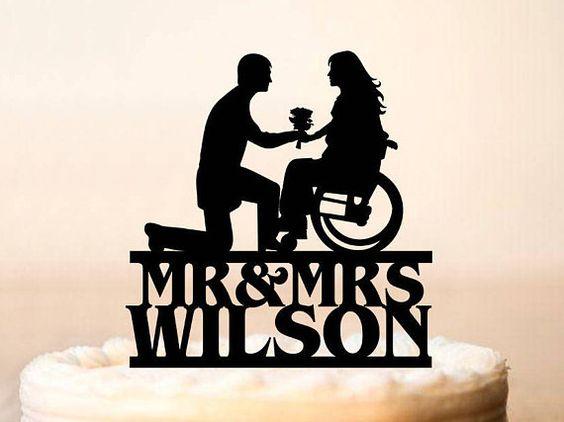 Demande en mariage en fauteuil roulant