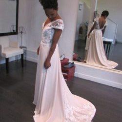 robe sur-mesure premier essai