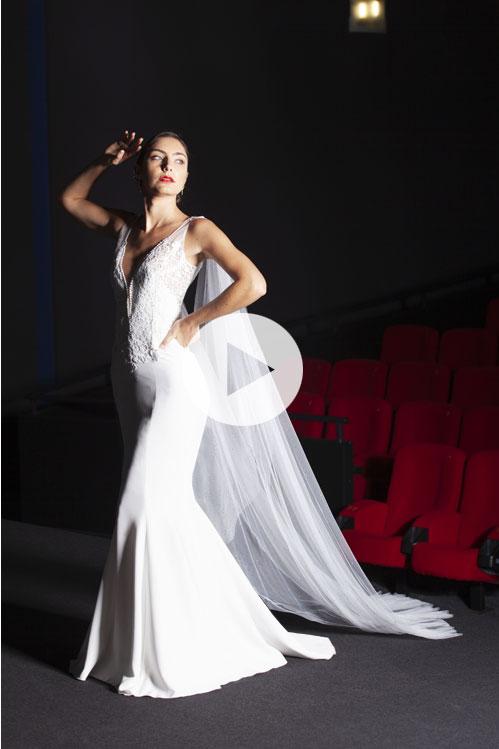 robe-mariée-sirène-dentelle-paillettes-Rhone-alpes