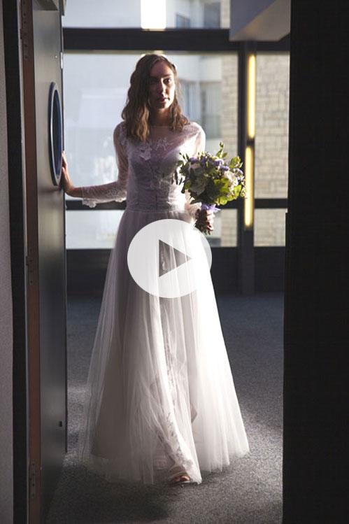 robe-mariée-modulable-version-cérémonie-tulle-manches-longues-Grenoble