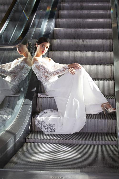 robe-mariée-longue-glamour-dentelle